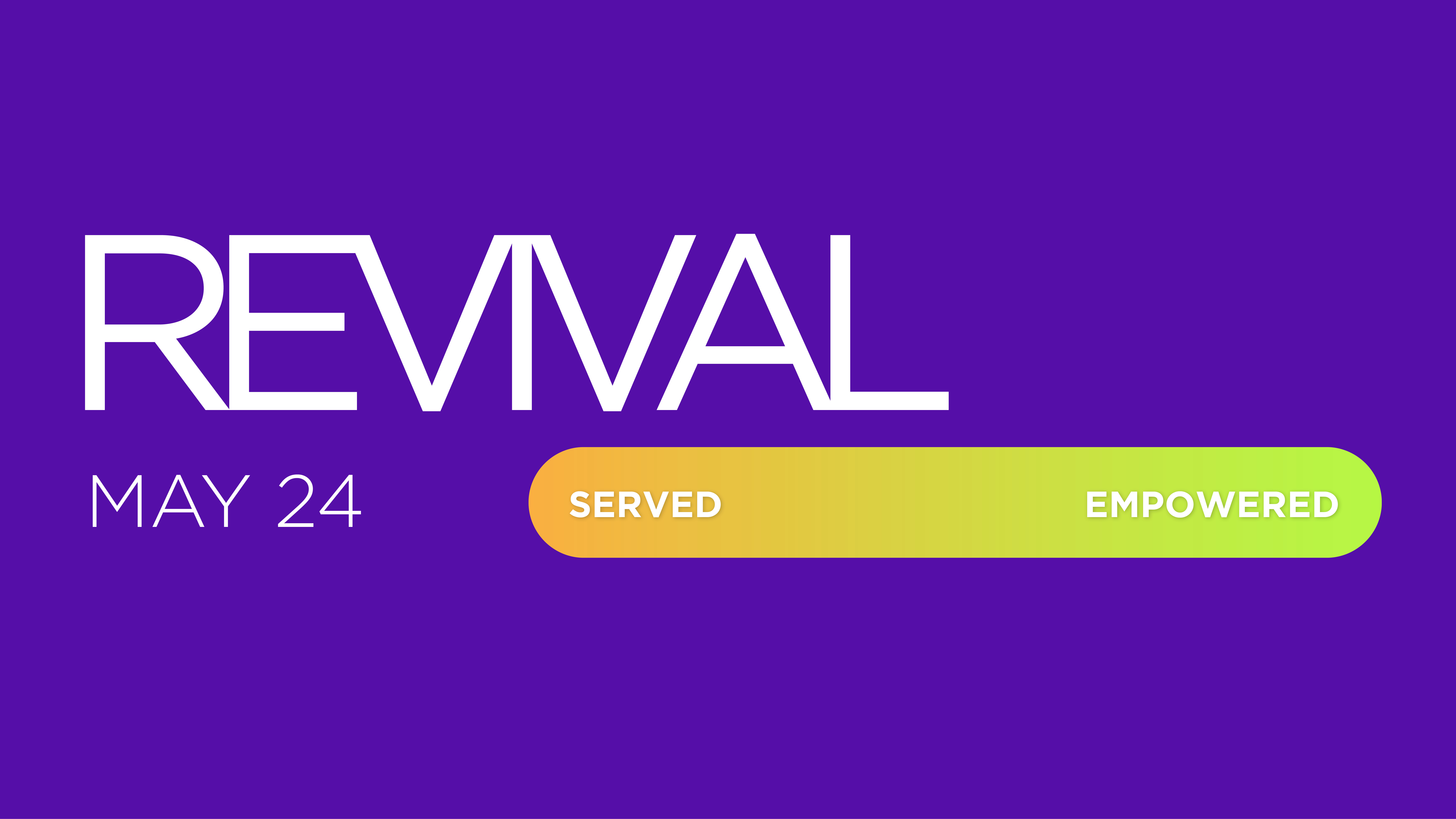 Revival | Five: Served to Empowered | Tim McConnell